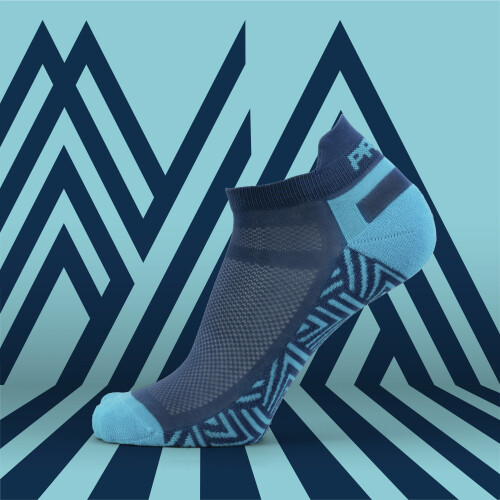 B-Active Training Socks - Belay Blue