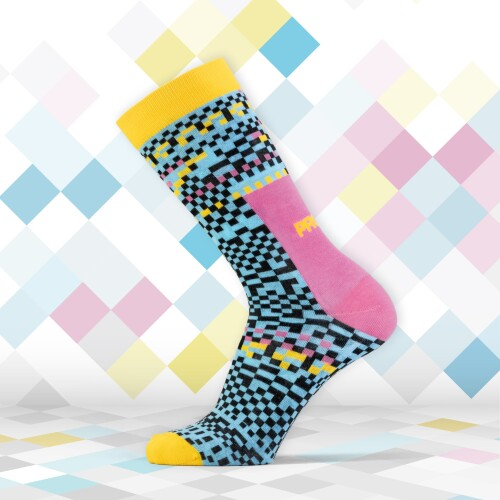 Calcetines B-Style - Pixel Blue