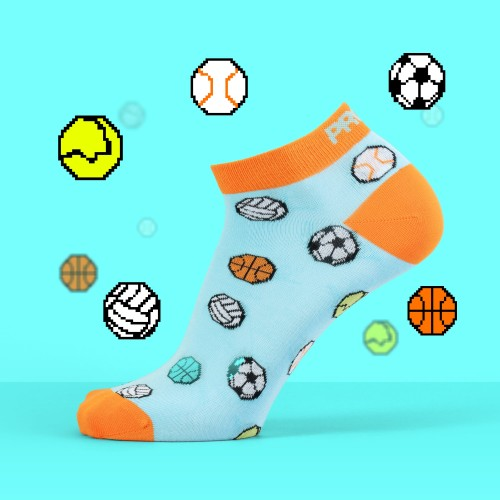 B-Style Ankle Socks - Sports
