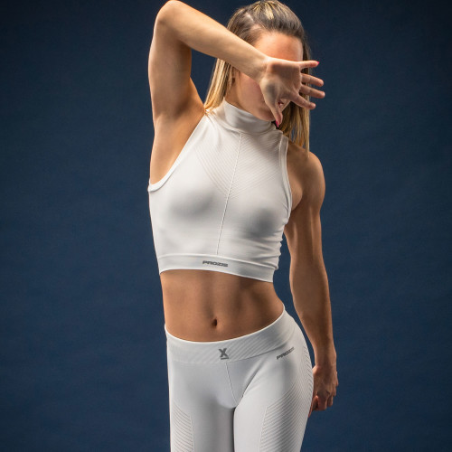 X-Skin Crop Top - Freya Bright White