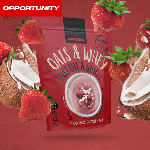 Instant Whole Oats & Whey 1250 g Opportunity