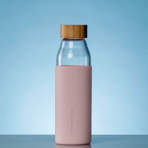 Oslo Glass Bottle - Rose 500 ml