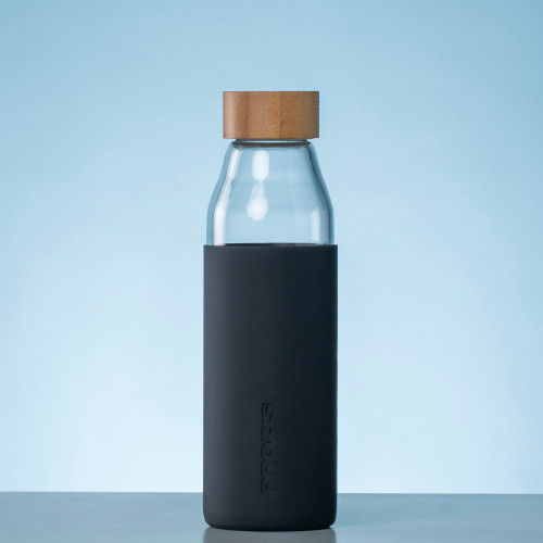 Oslo Glass Bottle - Black 500 ml