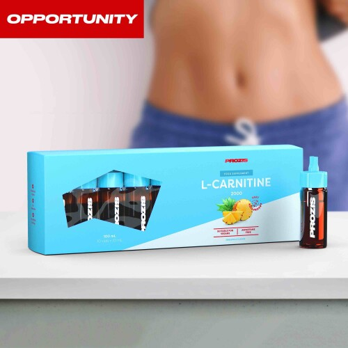 L-Carnitine 2000 10 vials Opportunity Pineapple