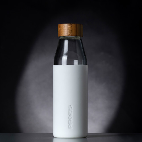 Oslo Glass Bottle - White 500 ml