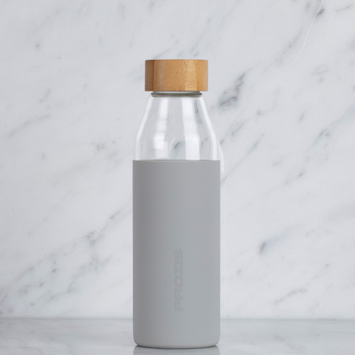 Helsinki Glass Bottle - Grey 500 ml