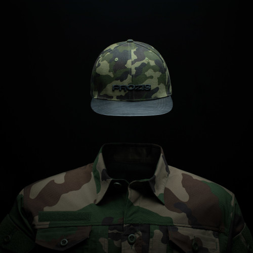 Camo Cap - Green/Black