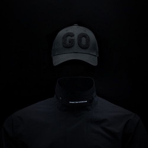 Black Go Cap - Black