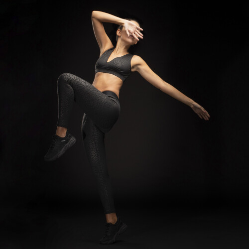 X-Sense Leggings - Sataré Black