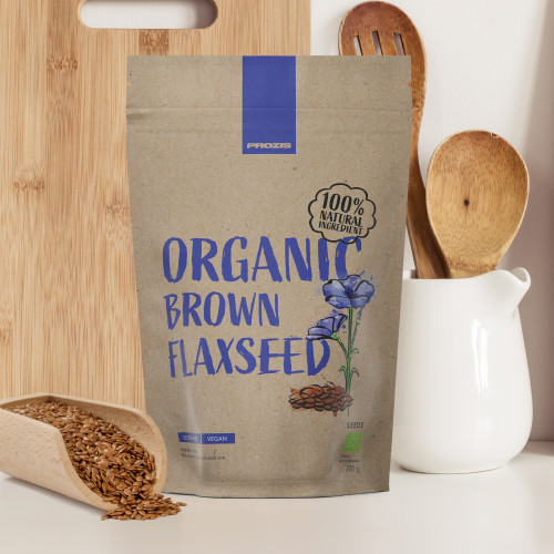 Organic Brown Flaxseed 200 g