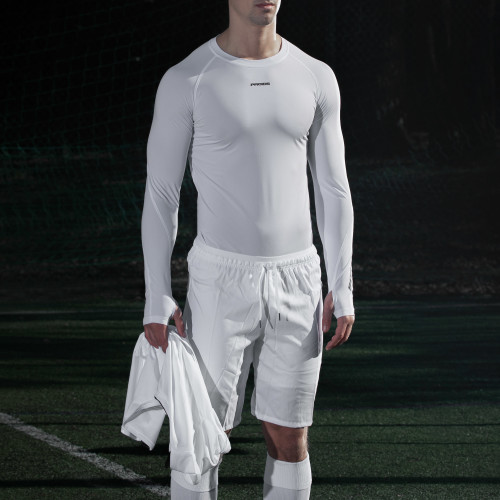 X-Shield Langarm Baselayer - White
