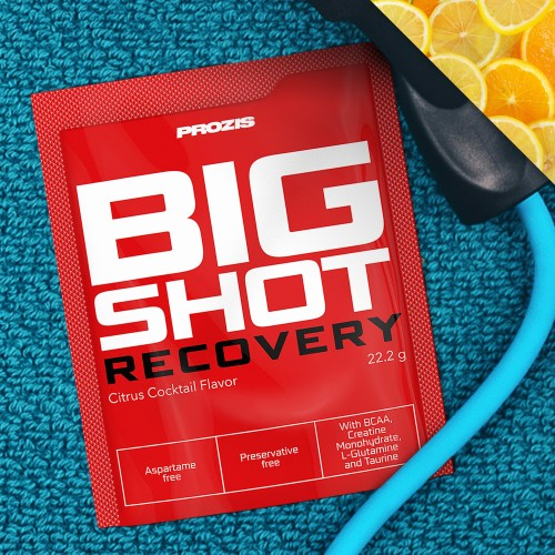Sachet Big Shot - Recovery 1 serving