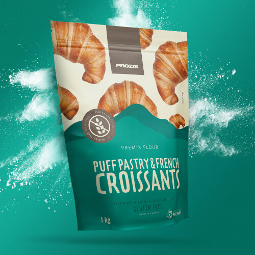 Gluten Free French Croissant & Puff Pastry Premix 1000 g