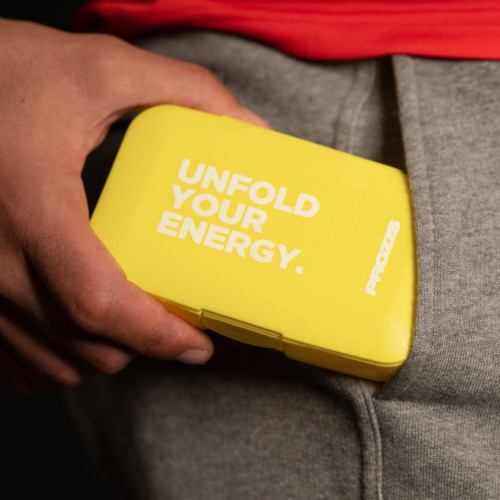 Portapillole Unfold Your Energy - Yellow