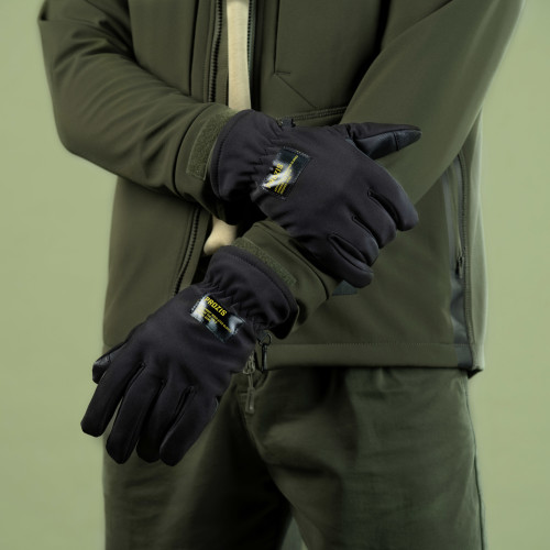 Guantes Army Insulated - Anti-frost Stealth Black