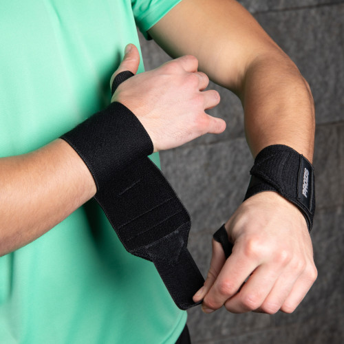 Prozis Wrist Wraps - Pair (2) Black