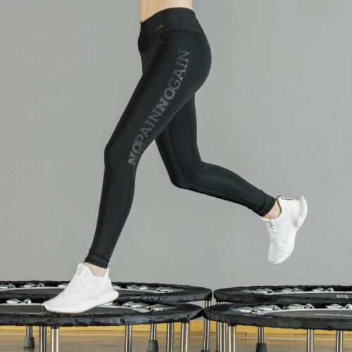 Power Up Leggings - No Pain No Gain