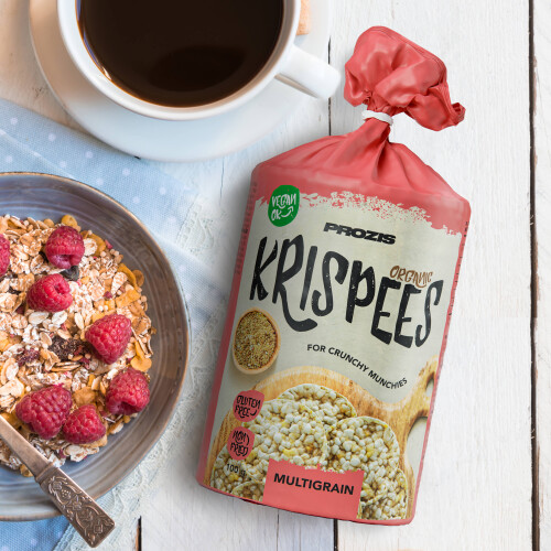 Organic Krispees - Multicereales 100 g