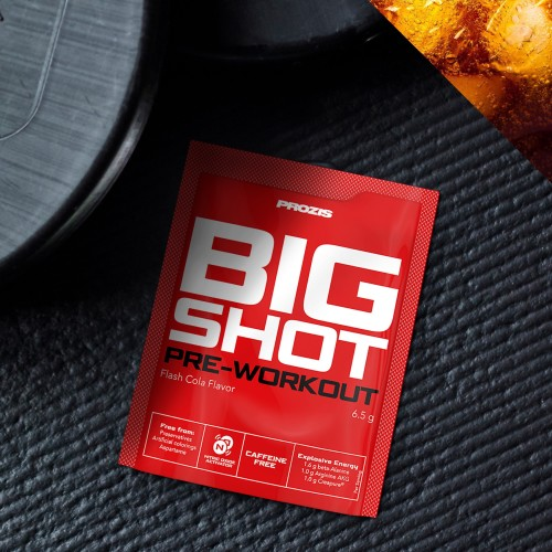 Sachet Big Shot - Pre-Workout Caffeine Free 1 serving