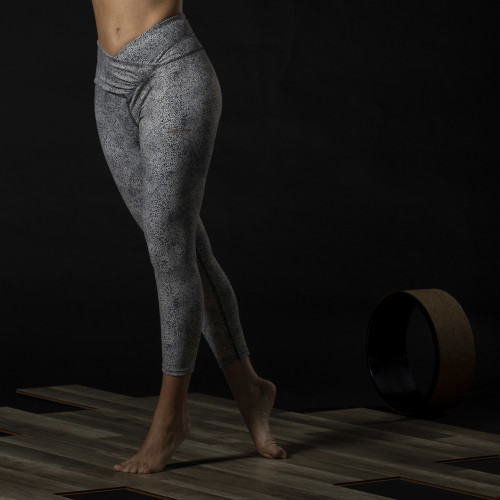 X-Sense 7/8 Leggings - Panthera Grey dots
