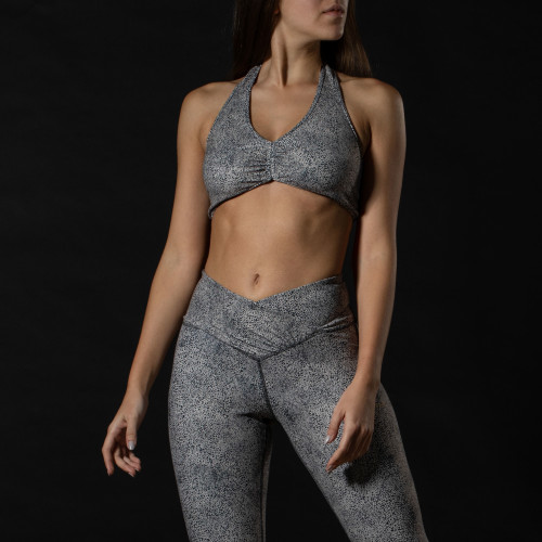 X-Sense Sports Bra - Kotiya Grey Dots