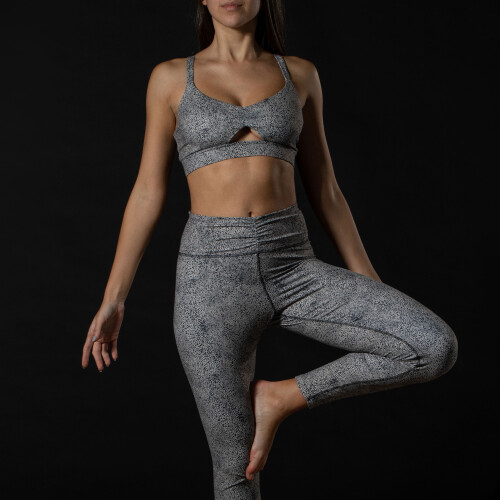 X-Sense Sports Bra - Fusca Grey Dots