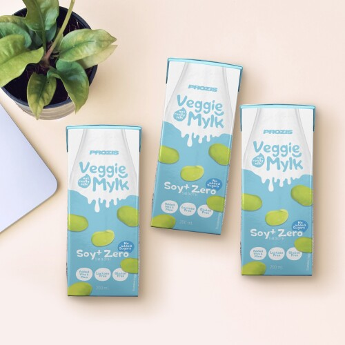 3 x Veggie Mylk - Soya + Light Drink 200 mL