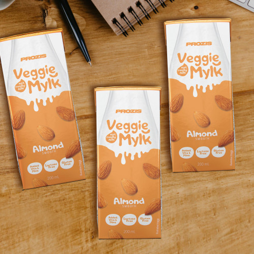3 x Veggie Mylk - Almond Drink 200 mL