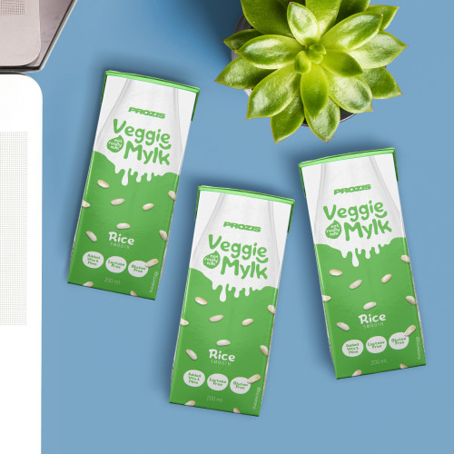 3 x Veggie Mylk - Rice Drink 200 mL