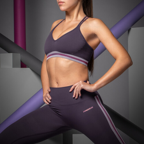 X-Skin Sports Bra - Corona Plum Perfect