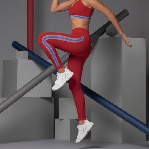 X-Skin legging - Corona High Risk Red