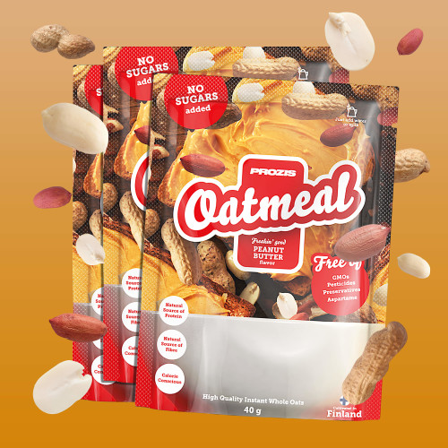 3 x Sachet Oatmeal - Wholegrain 40 g