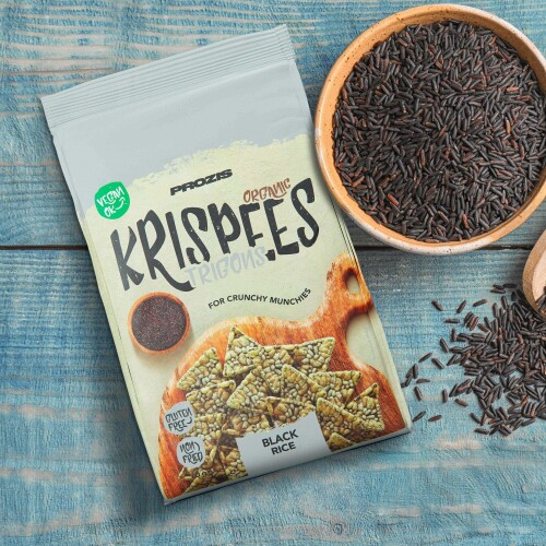 Organic Trigon Krispees - Black Rice 70 g
