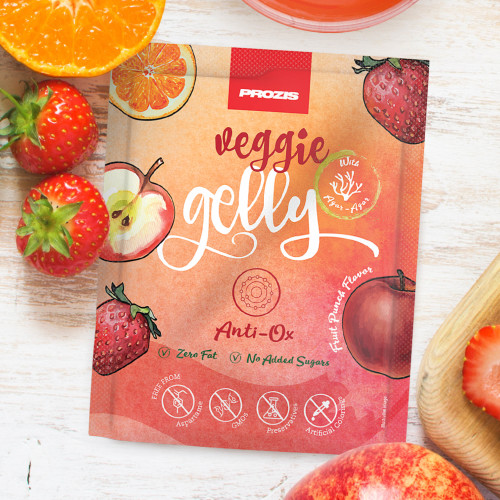 Veggie Gelly - Anti-Ox 15 g Fruit Punch