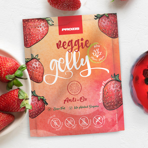 Veggie Gelly - Anti-Ox 15 g Fraise