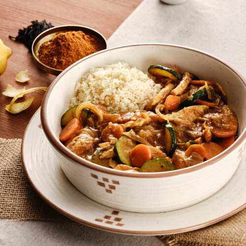 Tagine de Frango Marroquina