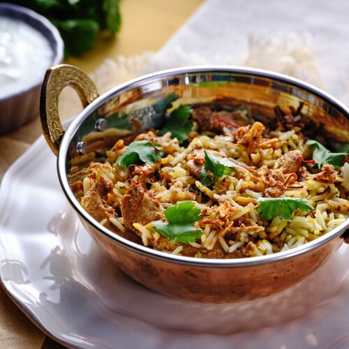 Indian Authentic Chicken Biryani