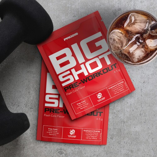 2 x Sachet Big Shot - Pre-Workout 1 serving