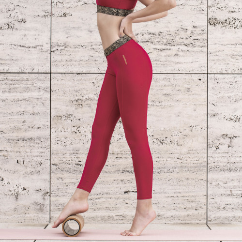 Leggings X-Sense Erta Ale - Berry