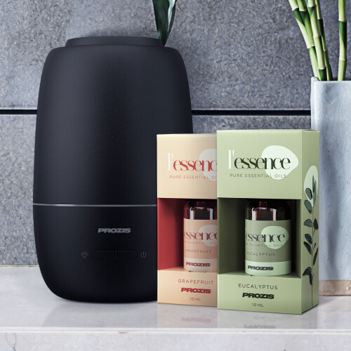 Essence Aroma Diffuser & Humidifier + 2x L'essence - essential oils