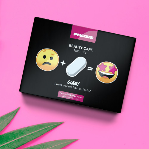 Glam - Hair and Skin 60 Chewable tabs
