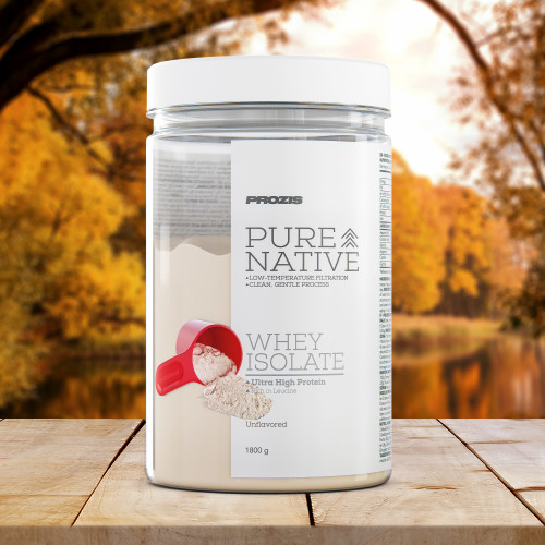 Pure Native Whey Isolate 1800 g