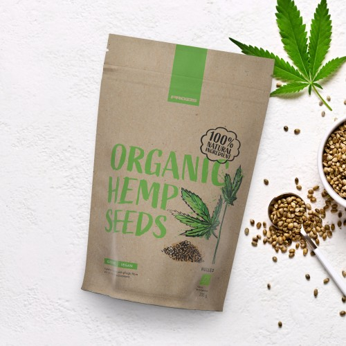 Organic Hulled Hemp Seeds 200 g