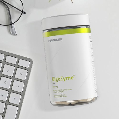 DigeZyme® 160 mg 90 veg caps