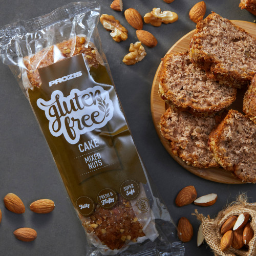 Gluten Free Cake - Mixed Nuts 250g
