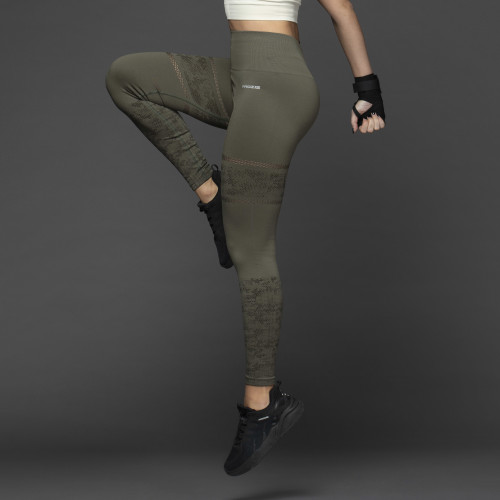 X-Skin Leggings - Haikela Olive Night