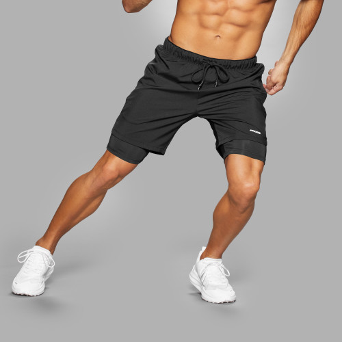 Lauf-Shorts - Holster Black
