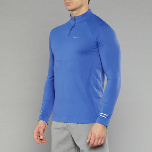 Peak Raiden LS Baselayer - Shock Blue