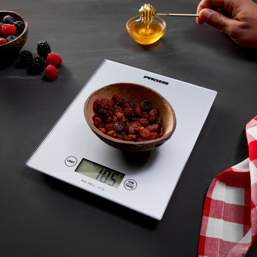 Dash - Digital Kitchen Scale - Silver