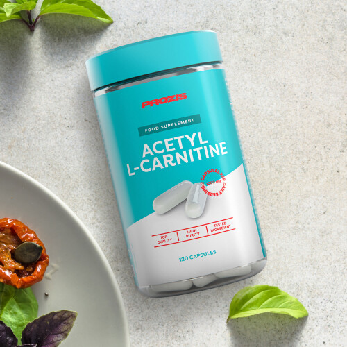 Acetil L-Carnitina 500 mg 120 cápsulas